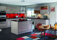 Nova Cashmere Contemporary Kitchen