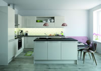 Nova Cream Contemporary Kitchen