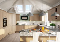 Winchester Acacia Traditional Kitchen