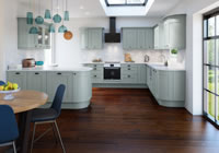 Winchester Blue Traditional Kitchen