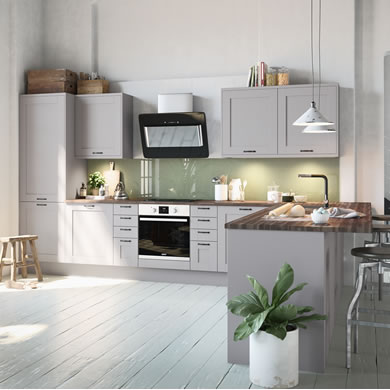 Tatton Grey Traditional Kitchen