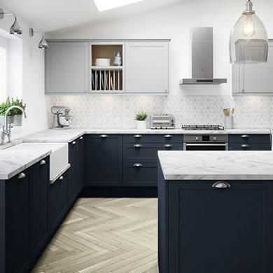 Dunham Midnight Traditional Kitchen