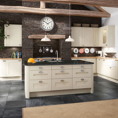 Winchester Cream Traditional Kitchen