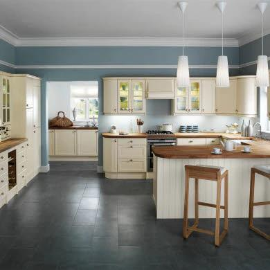 Shaker Cream Traditional Kitchen