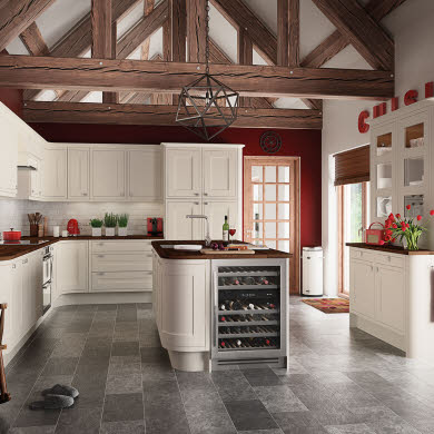 Somerton Cream Traditional Kitchen