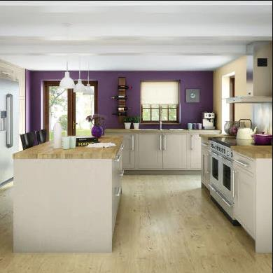 Somerton Sage Traditional Kitchen