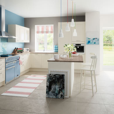 Tatton Cream Traditional Kitchen