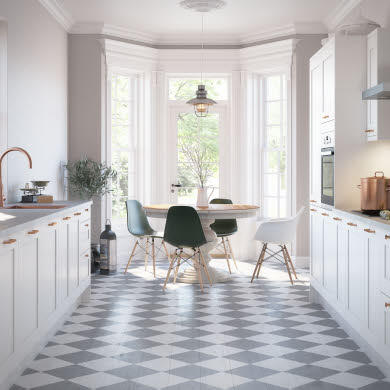Tatton White Traditional Kitchen