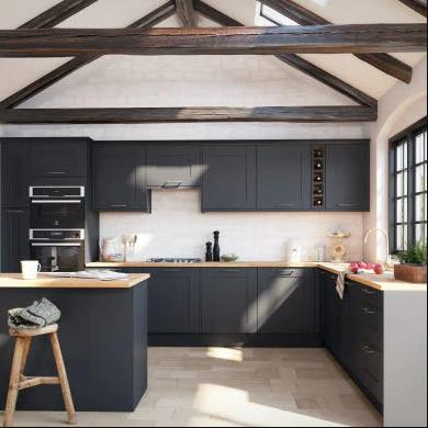 Winchester Midnight Traditional Kitchen